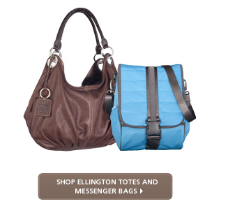 Shop Ellington Totes and Messenger Bags >