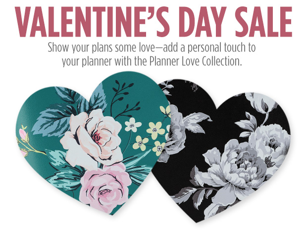 Show your plans some love with the Planner Love Collection for Valentine's Day